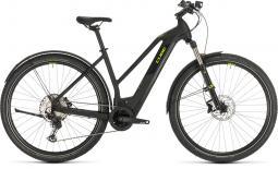 Cube Cross Hybrid Race 625 Allroad fekete női cross trekking e-bike 2020