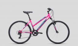 CTM Stefi 2.0 pink-kék női MTB 26