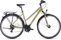 Cube Touring zöld női túratrekking kerékpár 2020