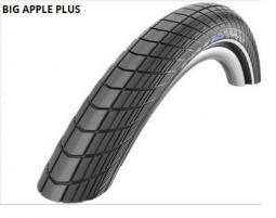 Schwalbe 20X2.15 Big Apple Plus Perf HS430 Greeng End Ref TW 730 g 20 coll külső gumi 2020