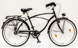Csepel Cruiser Neo GR fekete cruiser kerékpár 2020