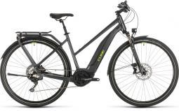 Cube Touring Hybrid EXC 500 sötétszürke női túratrekking e-bike 2020