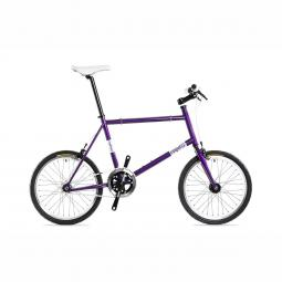 Csepel Royal Frisco 14 lila fixi kerékpár 2020