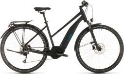 Cube Touring Hybrid One 400 fekete női túratrekking e-bike 2020