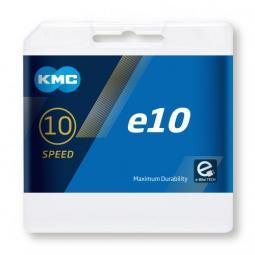 KMC E10 (régi X10E) 10 speed e-bike 1/2 x 11/128 114L 10 sebességes kerékpár lánc 2020