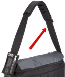 ABUS táskához vállpánt 2020