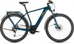 Cube Kathmandu Hybrid One 500 kék túratrekking e-bike 2020