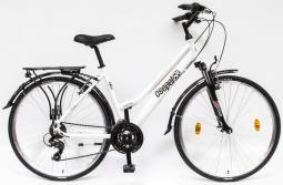 Csepel Traction 100 fehér női túratrekking kerékpár 2020