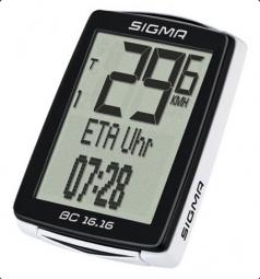 Sigma BC 16.16 kerékpár computer 2018