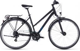 Cube Touring fekete női túratrekking kerékpár 2020