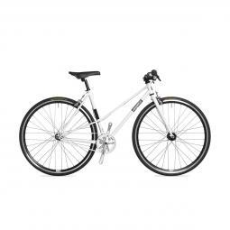 Csepel Royal 3* Lady női fehér fixi kerékpár 2020
