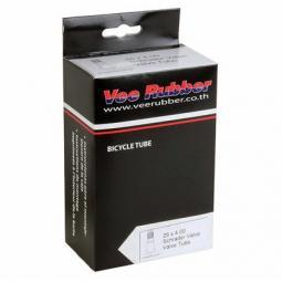 Vee Rubber 28/40-609/630 (27x1 1/4, 28x1 1/4x1 3/8) AV48  auto szelepes belső gumi 2020
