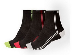 Endura Coolmax Stripe II Sock kerékpáros zokni 2017