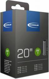 Schwalbe AV7A 20X1.1/8, 1.3/8 20X1,10-1,40 105G 40 mm autoszelepes belső gumi 2020