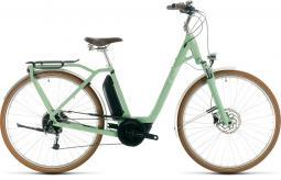 Cube Ella Ride Hybrid 400 női zöld city e-bike 2020