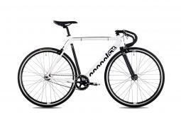 Csepel RoyAl Alu 19 fehér fixi kerékpár 2020