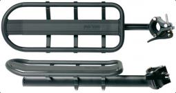 Bikefun PostRack fekete Alu nyeregcsőre szerelhető (max.10 kg-ig) kerékpár csomagtartó 2018