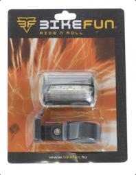 Bikefun Blinker F 3 LED 2 funkciós villogó kerékpár első lámpa 2018