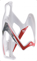 Merida ME14 műanyag, W vastag, fehér/piros, 35 g kerékpár kulacstartó 2018