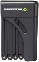 Merida 2mm x 9 fekete hajtogatható zár 2018