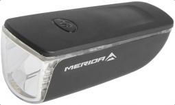 Merida 1 W fekete első lámpa 2018