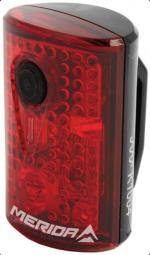 Merida 1737 Safety 3 LED, USB 4 funkciós fekete kerékpár hátsó lámpa 2018