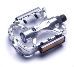 Bikefun Uplander MTB ezüst alumínium pedál 2018