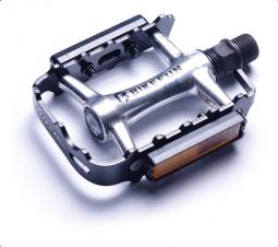 Bikefun Forester-II MTB ezüst alumínium pedál 2018