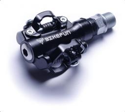 Bikefun Dual Trap SPD kompatibilis patent pedál 2018