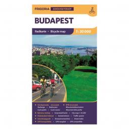 Frigoria Budapest kerékpáros térkép 2019