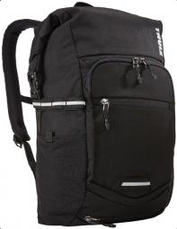 Thule Pnp Commuter Backpack fekete hátizsák túrázáshoz esővédővel 2019