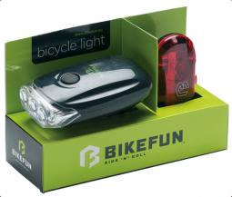 Bikefun Blaze E+H LED kerékpár lámpa szett 2019