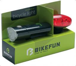 Bikefun Link E+H 5+4 LED kerékpár lámpa szett 2019