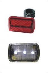 Bikefun Blinker 3+3 LED kerékpár lámpa szett 2019