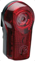 Bikefun Pulsar 3 piros LED, 2 funkciós kerékpár hátsó lámpa 2019