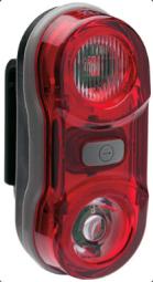 Bikefun Twin 2 piros LED 3 funkció 2xAAA kerékpár hátsó lámpa 2019