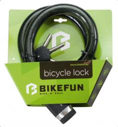 Bikefun Defender 25x1000 sodrony kerékpár zár 2019