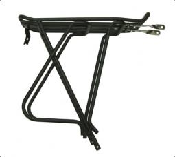 Bikefun  Multitrack alu 26 fekete kerékpár hátsó csomagtartó 2019
