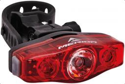 Merida MD057 360, 3LED, 3 funkciós kerékpár hátsó lámpa 2019