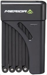 Merida 2mm x 9 fekete hajtogatható zár 2019