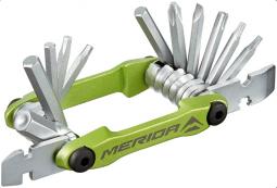 Merida 4324 Multi (17 in 1), zöld, 125 g, 74mm zsebszerszám 2019