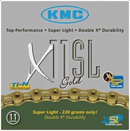 KMC X11SL 1/2x1/128 11L, 11 sebességes kerékpár lánc 2019