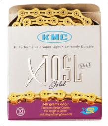 KMC X10SL 10 sebességes kerékpár lánc 2019