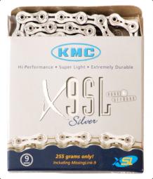 KMC X9 SL 9 sebességes kerékpár lánc 2019