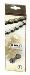 KMC Z50 7 sebességes kerékpár lánc 2019