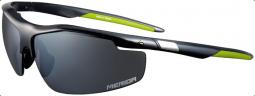 Merida Race 1099 fényes zöld-fekete, cserélhető lencsés szemüveg kemény tokkal 2019