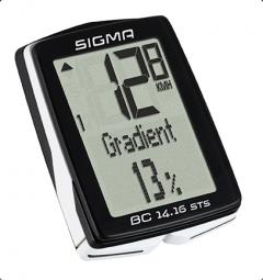 Sigma BC 14.16 STS kerékpár kilométeróra 2019