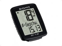 Sigma BC 7.16 ATS vezeték nélküli kerékpár kilométeróra 2019