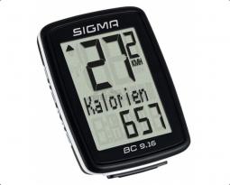 Sigma BC 9.16 vezetékes kerékpár kilométeróra 2019