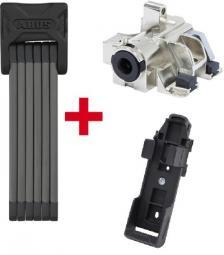 ABUS 6015/120 Bordo Big SH + ABUS Plus cilinder Bosch akkuhoz RH(Gen 2) (alsó vázcsőre) hajtogatható zár 2019